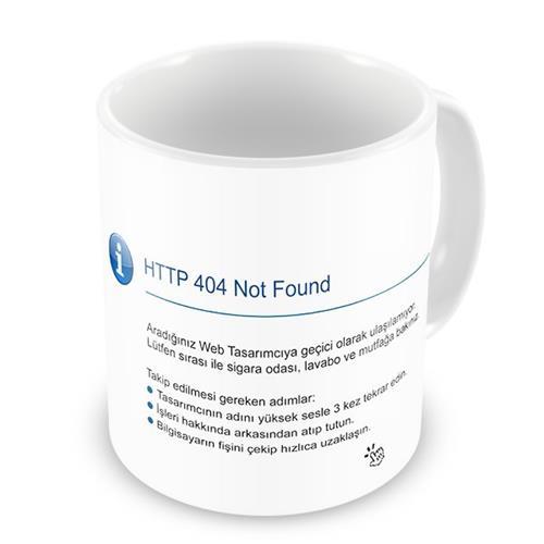 404 Not Found Uyarı Mesajı Ürünleri