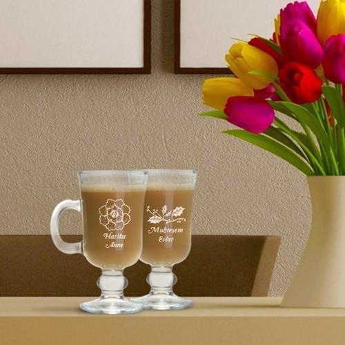Anneye Özel İrlanda Bardağı 2'li Set