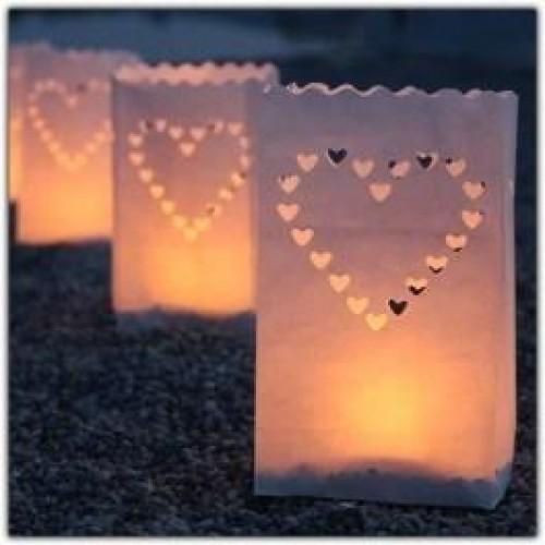 Candle Bags Mumluk Poşetler 10'lu Set