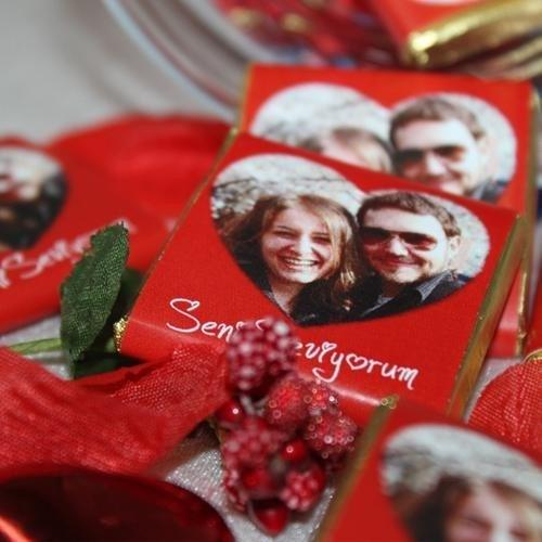 Çikolatalı Kırk Bir Kere Maşallah Sevgi Kavanozu