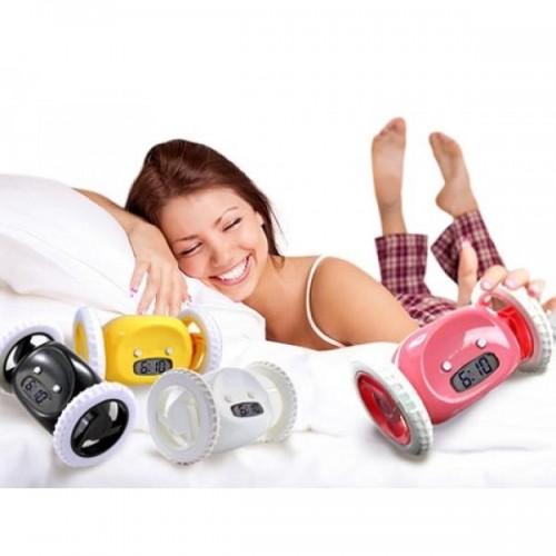 Hala Yataktamısınız Atlayıp Kaçan Alarmlı Saat