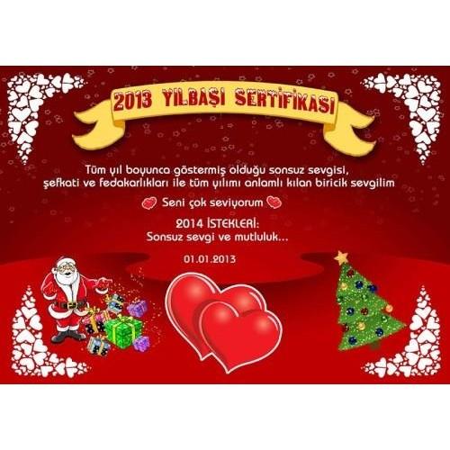Size Özel 2014 Yılbaşı Sertifikaları