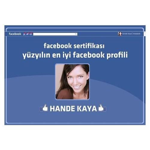 Size Özel Facebook Sertifikası