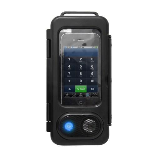 Splashproof Smartphone Speaker Case   Suya Dayanıklı Hoparlörlü Telefon Kılıfı
